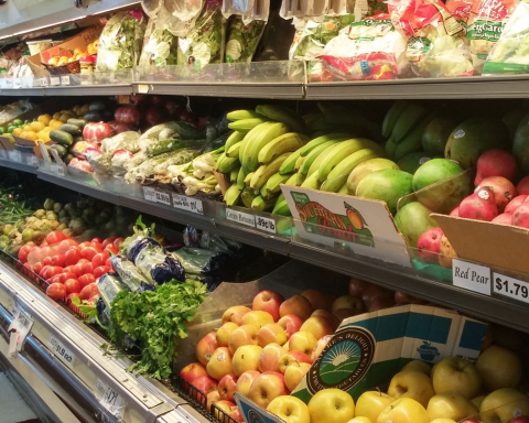 Los Primos Supermarket on Alston Avenue is one of the few grocery stores in North East Central Durham where people can purchase fresh fruits and vegetables. Photo by Christina Herring / VOICE staff reporter