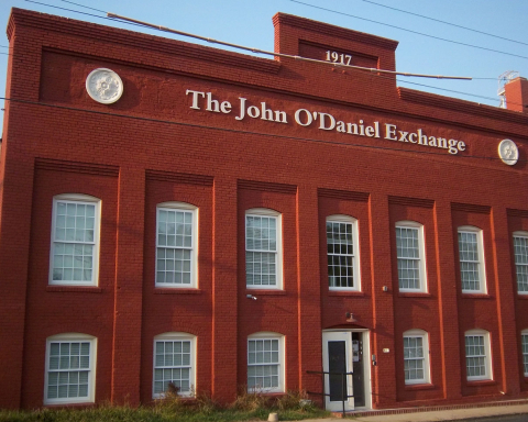 After a long history in NorthEast Central Durham, the John O'Daniel Exchange stands as a success story. Photo by Roland Givens / VOICE staff reporter