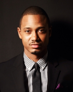 Terrance J told students about his childhood, education, and experience with show business. Photo courtesy of IMDB.com