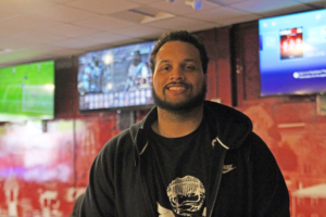 Travis McCorkle, the president of NCCU eSports. Photo by Tia Mitchell/Echo Co-editor-in-chief