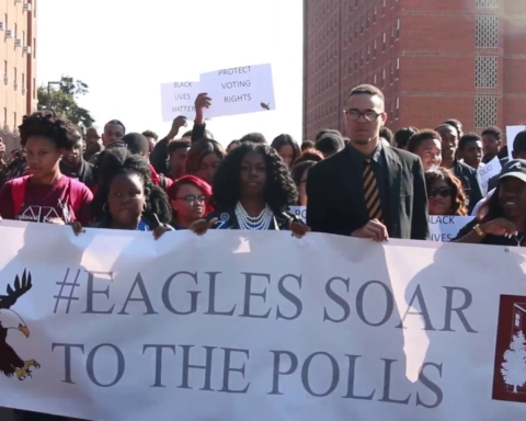NCCU students 'soar to the polls'