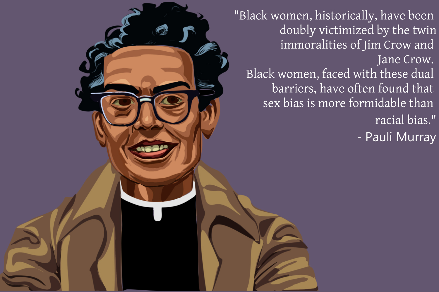a visual tribute to an unsung hero of black history pauli murray paulimurray kiara original cw jpg